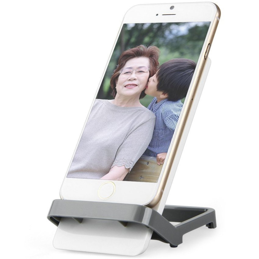 Universal Practical Mobile Phone Stand Holder (Grey) (Intl)