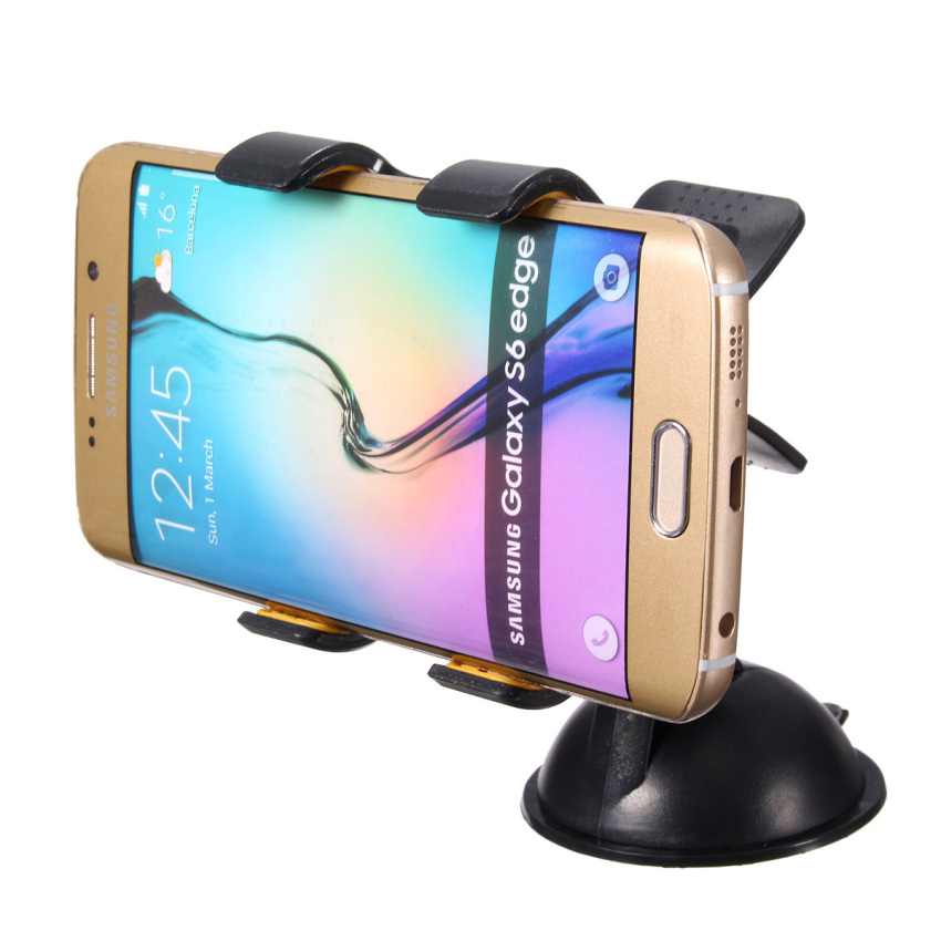Universal Rotating 360° Car Windshield Suction Mount Holder Stand for iPhone 6 (Intl)
