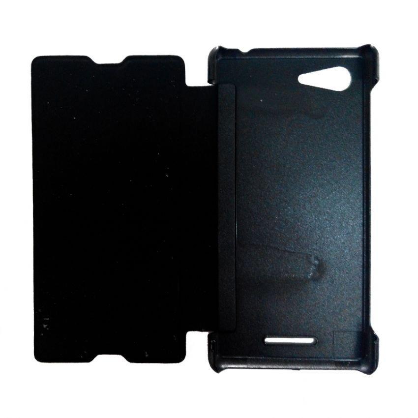 Universal Sony Flip Cover Xperia E3 - Hitam