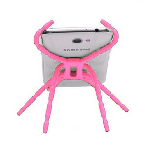 Universal Spider Multi-Function Car Phone Holder (Pink) (Intl)
