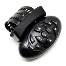 Universal Steering Wheel Universal IR Remote Control For Car CD / DVD / TV / MP3 - MXK139-RF - Hitam