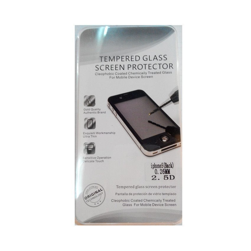 Universal Tempered Glass iPhone SE / 5S / 5 - Screen Guard