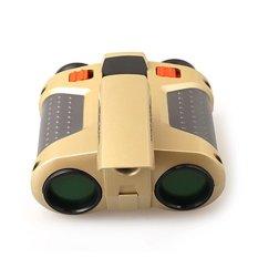 Universal - Teropong Night Scope Binoculars Pop-Up Light - Gold