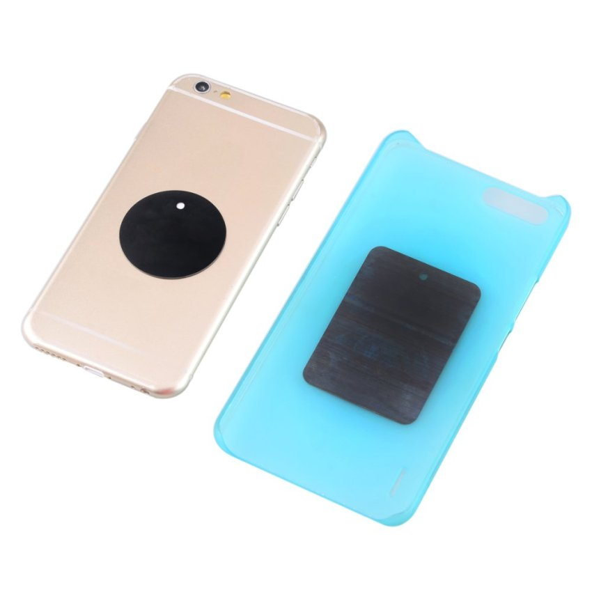 Universal XWJ-1505 Magnetic 360° Rotary Mobile Phone Mount Holder – Black (Intl)