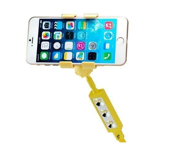 Universal ZK-N1 Flexible Mobile Phone/Tablet and PC Mount Holder with Clip & USB LED Lamp (Yellow) (Intl)