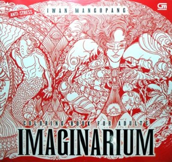 Uranus Gramedia Coloring Book For Adults Imaginarium