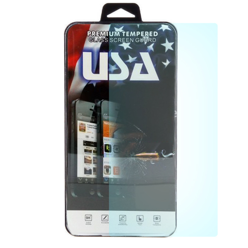 USA Tempered Glass for One Plus 2 - 9H Rounded Edge - 0.33mm - Clear