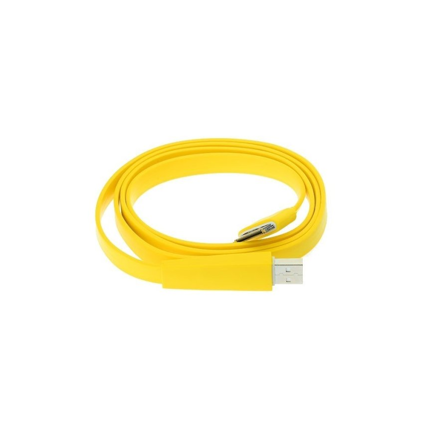 USB Sync Data Charging Cable for iPhone 3G/3GS/4/4S (Yellow)