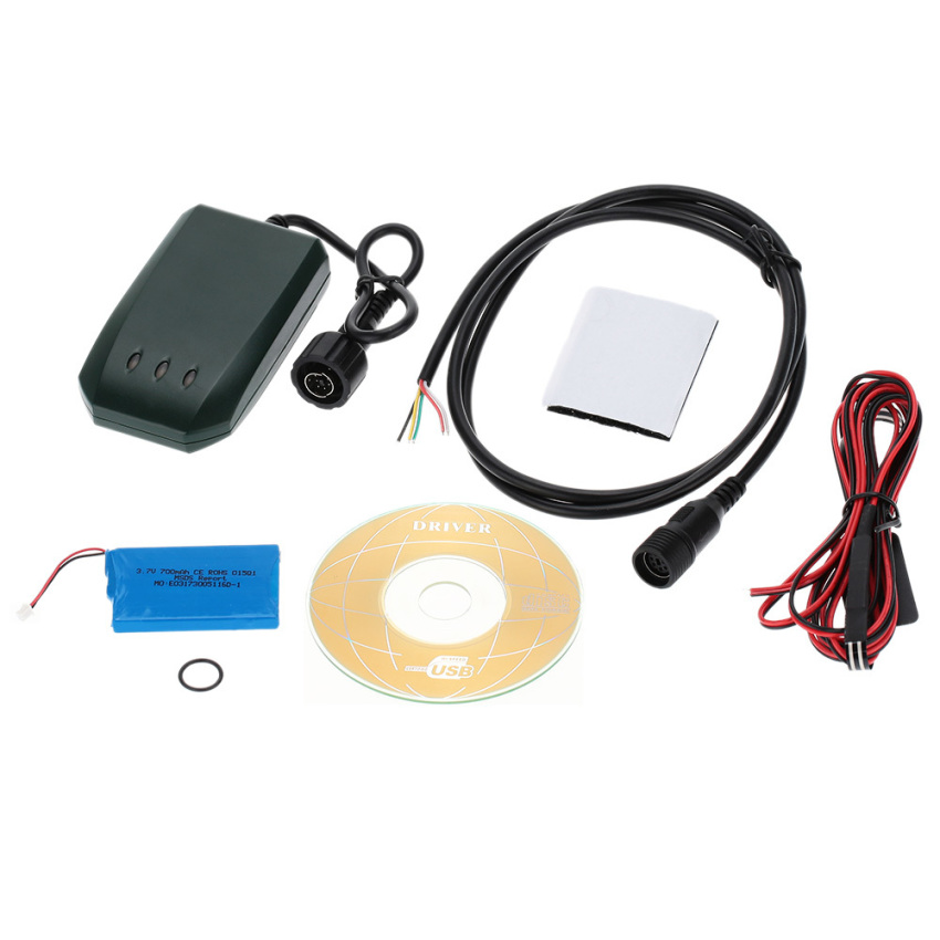 Vehicle/Motorcycle GPS Tracker Locator GSM GRRS Track Support 850/900/1800/1900MHz (Black) (Intl)