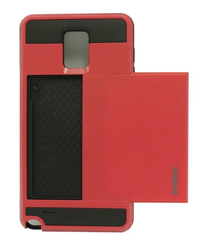 Verus Damda Slide Case for Samsung Galaxy Note 4 - Merah
