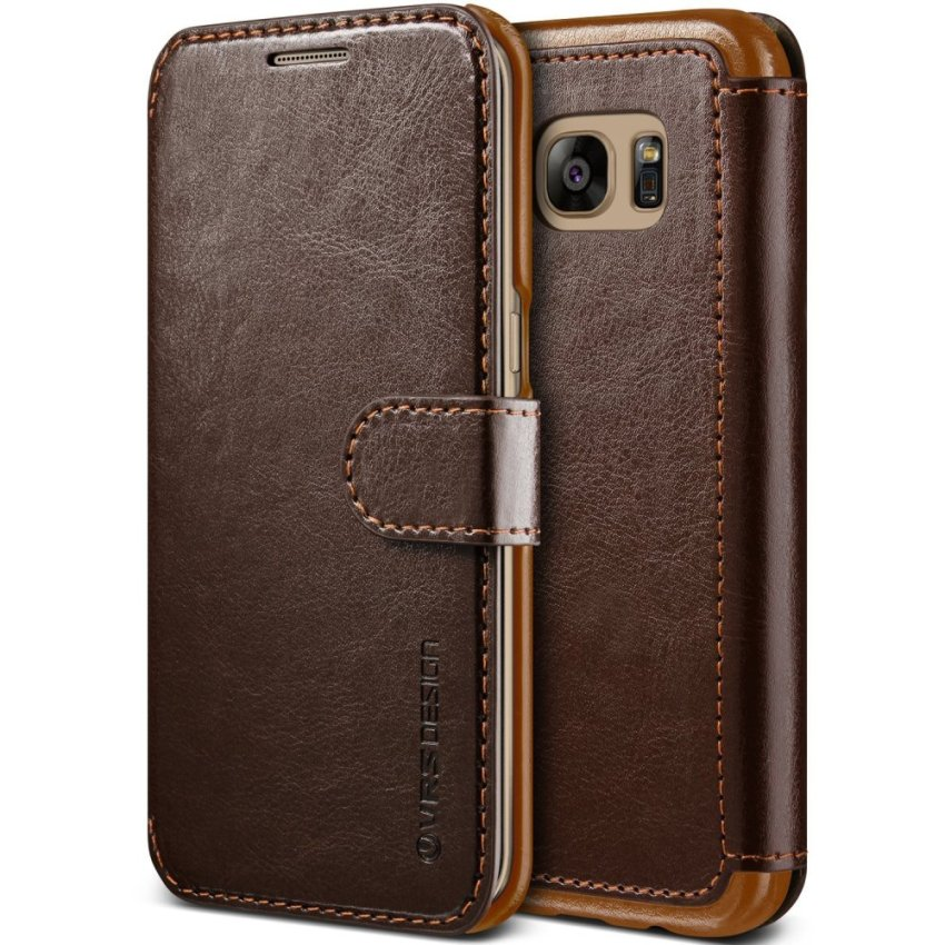 Verus Dandy Layered Samsung Galaxy S7 Edge - Coffee Brown