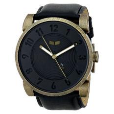 Vestal Unisex DOP013 Doppler Black Gold Patina Watch - Intl