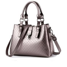 Vicria Tas Branded - Women Korean Elegant Bag Style High Quality PU Leather - Perak
