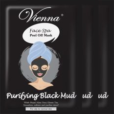Vienna Face Spa Peel Off Mask - Purifying Black Mud - 3pcs