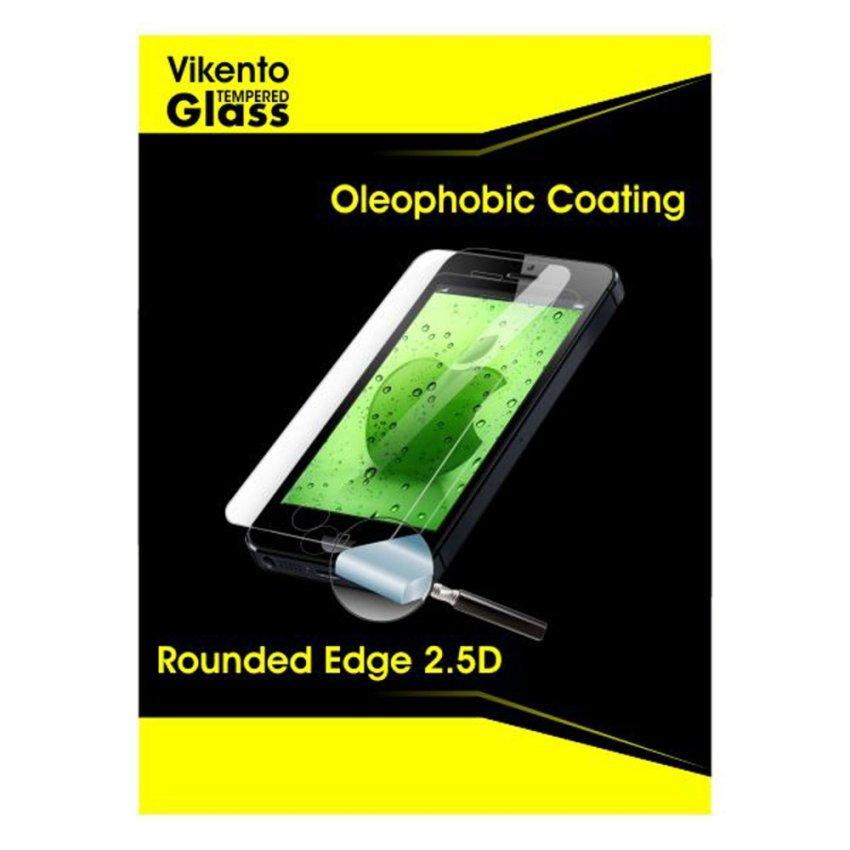 Vikento Glass Tempered Glass Iphone 5 / 5C / 5S Depan dan Belakang - Premium Tempered Glass
