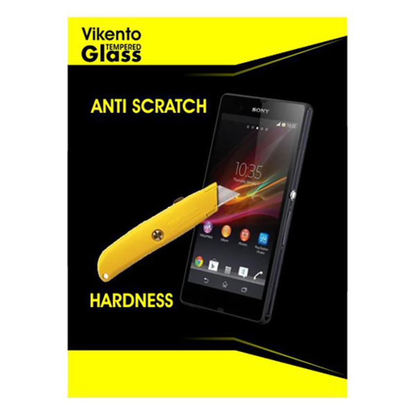 Vikento Glass Tempered Glass Sony Xperia Z3 / L55 Depan dan Belakang - Premium Tempered Glass