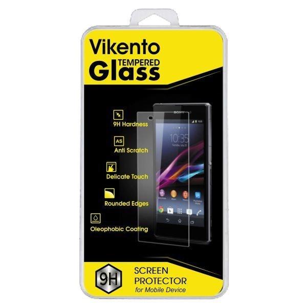 Vikento Glass Tempered Glass untuk Sony Xperia M4 Aqua Depan + Belakang - Premium Tempered Glass