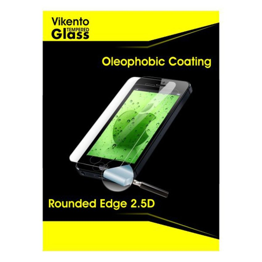 Vikento Glass Tempered Glass Untuk Sony Xperia Z3 / L55- Premium Tempered Glass