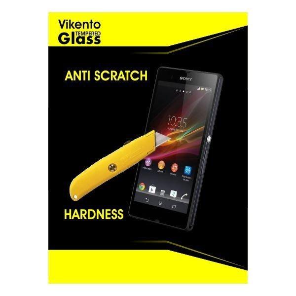 Vikento Glass Untuk Blackberry Z3 / Bb Z3 - Premium Tempered Glass Round Edge 2.5D