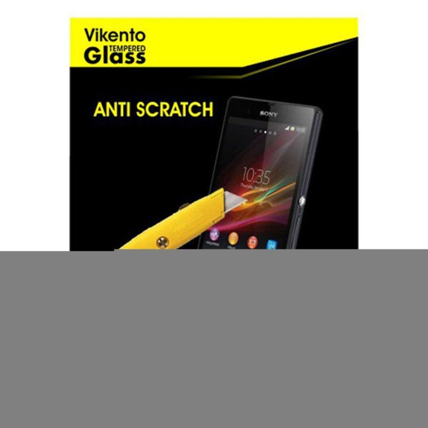 Vikento Tempered Glass Untuk Oppo F1 / Selfie Expert Tempered Glass Screen Protector - 9H Rounded Edge 2.5D