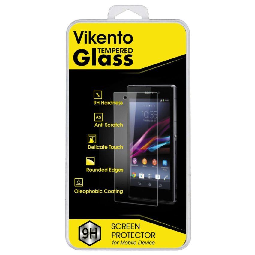Vikento Tempered Glass Untuk Samsung Galaxy S4 - Premium Tempered Glass - Anti Gores - Screen Protector