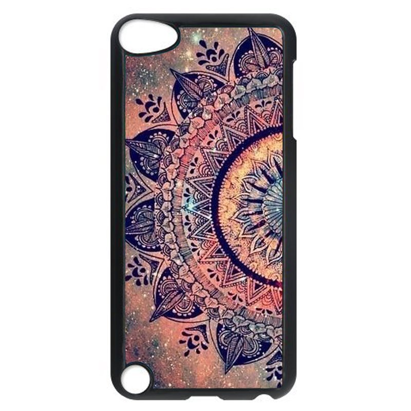Vintage Floral Phone Case for iPod Touch 4 (Black)