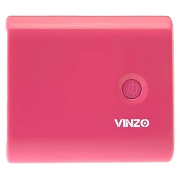 Vinzo Power Bank 5600 mAh Candy Pink