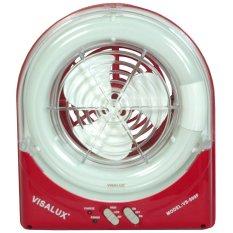 Visalux VS-999 F Kipas Meja dan Lampu - Merah