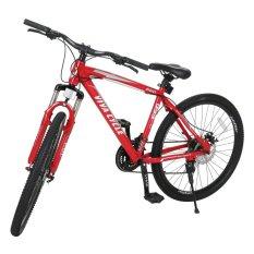 "Viva Cycle Track 660 26"" MTB 21sp Shimano - Merah - Gratis Pengiriman JABODETABEK"