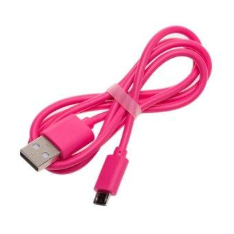 Vivan Micro Usb Color CBM80 Transfer Cable Color Transfer Cable - Pink