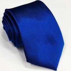 VM Dasi Slim Stripe Biru - Slim Tie