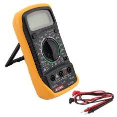 Vococal XL830L Digital LCD Ohmmeter Tester (Orange)