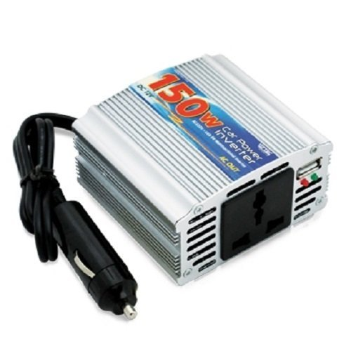 VZTEC Car Power Inventer 150 Watt - VZ-PI1500 - Silver