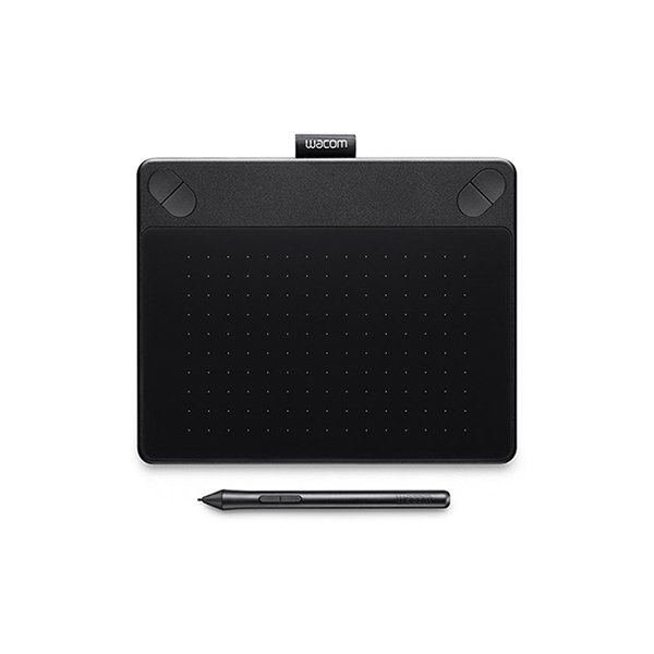 Wacom Pen & Touch Tablet -Small - Intuos Comic - CTH-490/K1-CX - Hitam