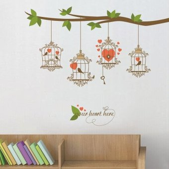 Wall sticker Stiker Dinding JM7294 Colorful | Lazada Indonesia
