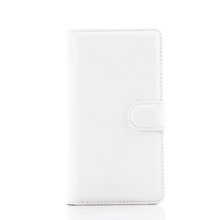 Wallet Flip Leather Case With Card Bag Holder For LG G4 mini White (Intl)