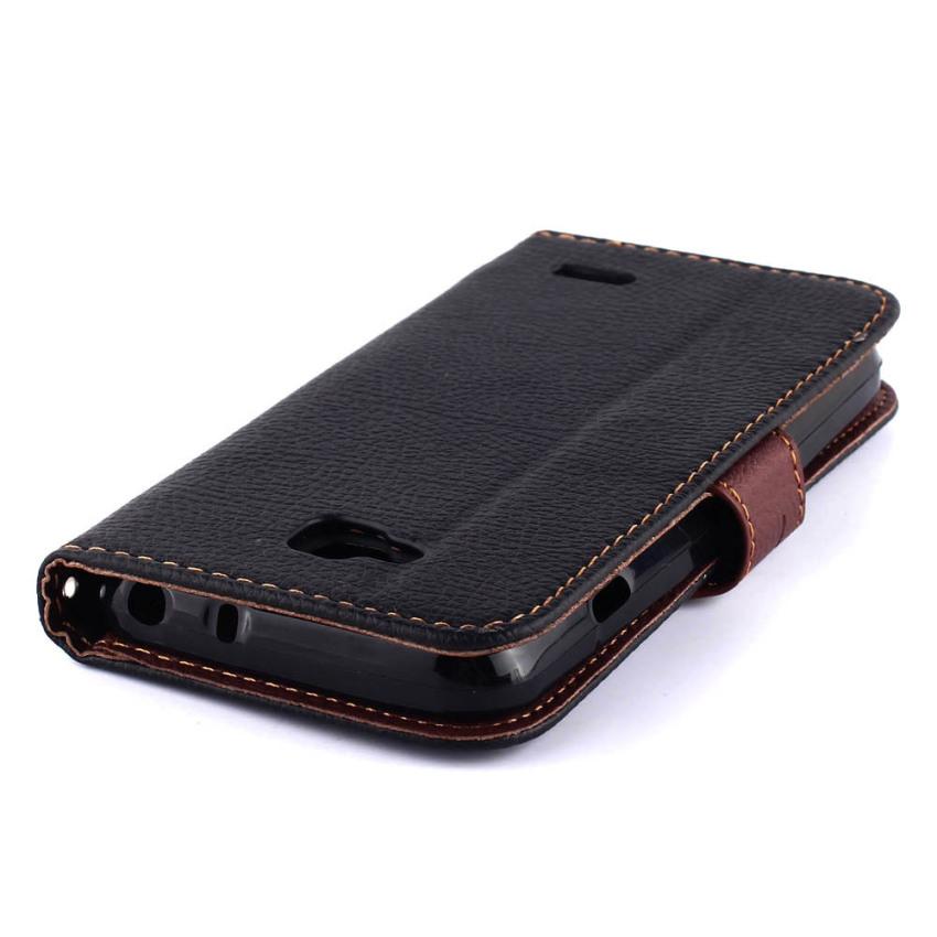 Wallet Flip Leather Cover for LG L90 (Black) (Intl)