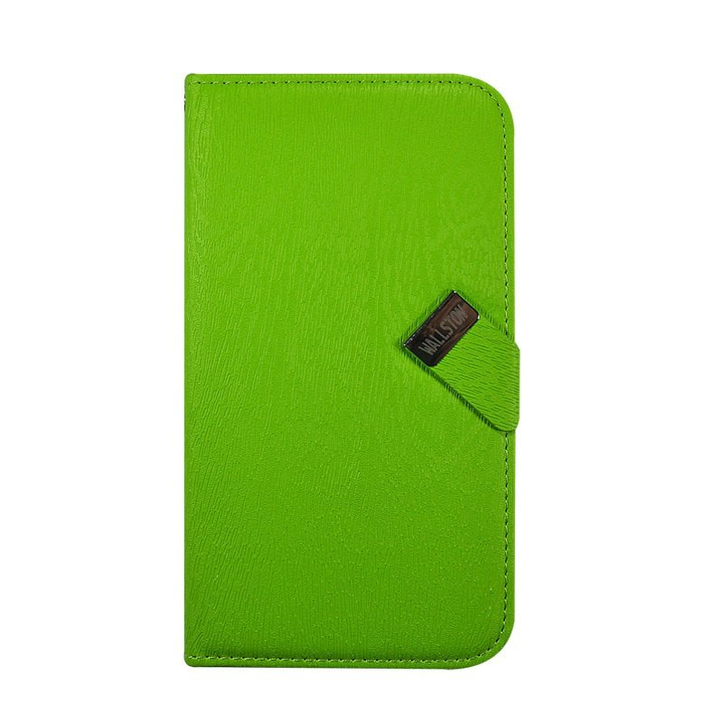 Wallston Leather Case for Samsung I9150 Galaxy Mega 5.8 - Hijau