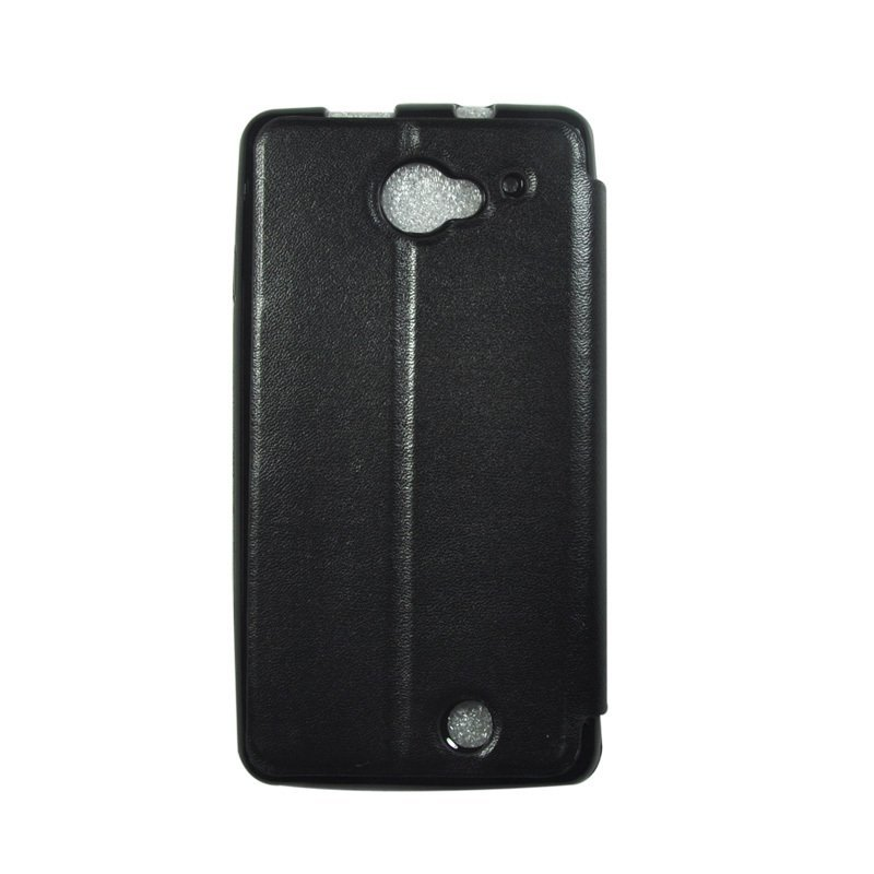 Wallston Leather Case for Smartfren Andromax U2 Black