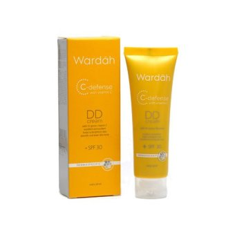 Wardah C-Defense DD Cream SPF 30 Light - 20ml | Lazada