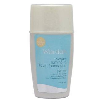 Wardah Everyday Luminous Liquid Foundation - Natural White