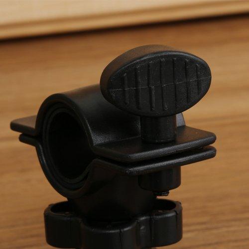 Waterproof Motorcycle Bicycle Handlebar Cradle Mount Holder Case for iPad Mini (Black) (Intl)