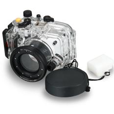Waterproof Underwater Housing Underwater Camera Housing Case For Sony RX100 Mark III 3 M3 LF658-SZ (Black) - Intl