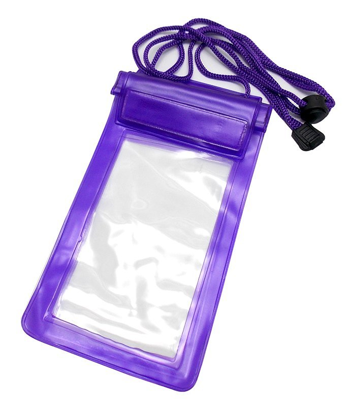 Waterproof Universal Case Bag for Smartphone 6 inc - Ungu