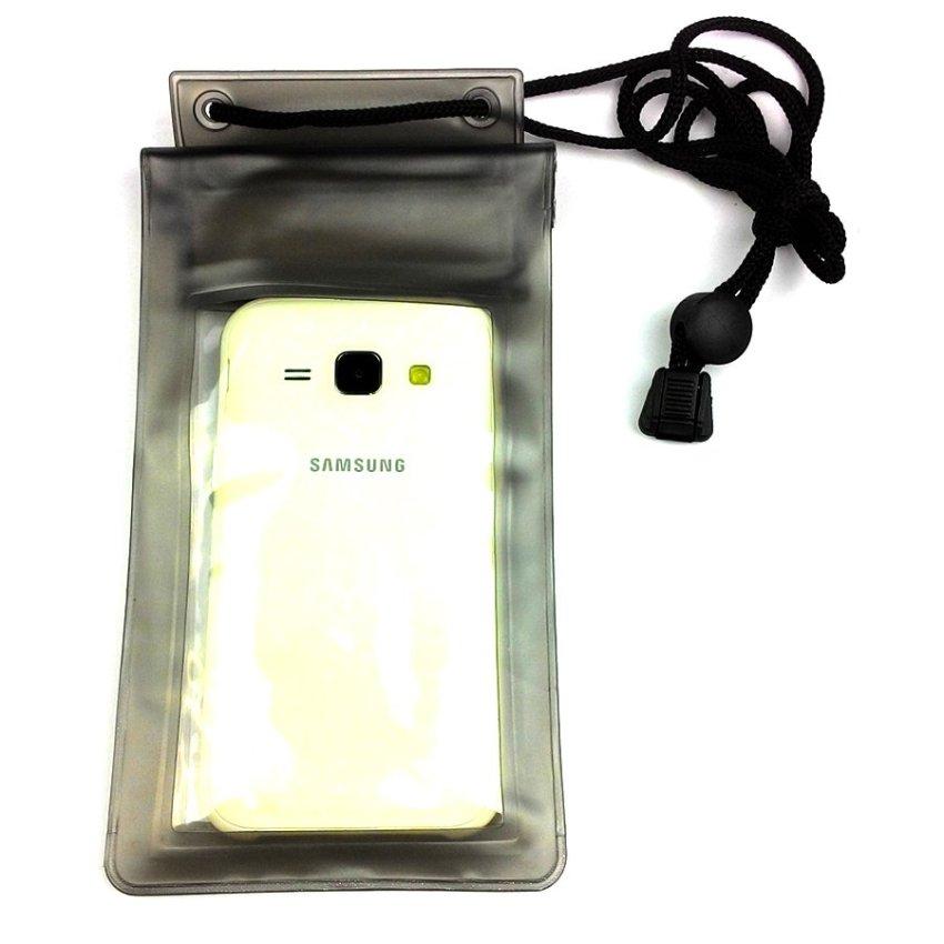 Waterproof Universal Case Bag for Smartphone - Hitam