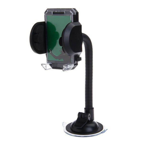 WEIFENG S544 Shockproof Antiskid Car Windshield Swivel Mount Holder for Mobile (Black)