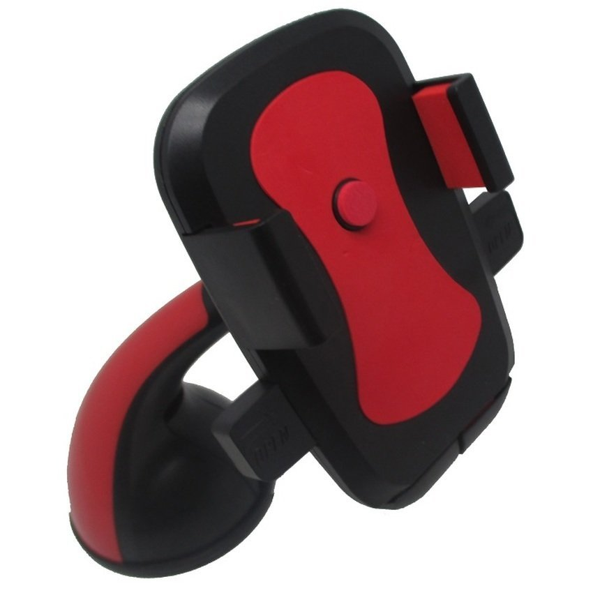 Weifeng Universal Mobile Car Holder for Smartphone - WF-371 - Merah