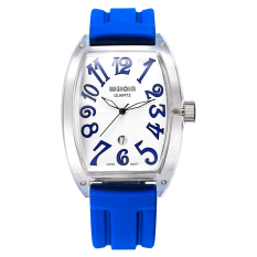 WEIQIN Silicone Strap Watches Men & Women Top Brand Luxury Fashion Casual Big Numbers Sport Watch Analog Quartz Watch - Intl