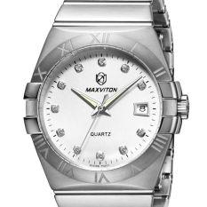 Weishi The Fine Steel Flour VM1312-11A Mars Avedon MAXVITON Swiss Watch Brands Of Men's Watches Strip Diamond Fashion Fashion Noctilucent Water-proof Sapphire Quartz W