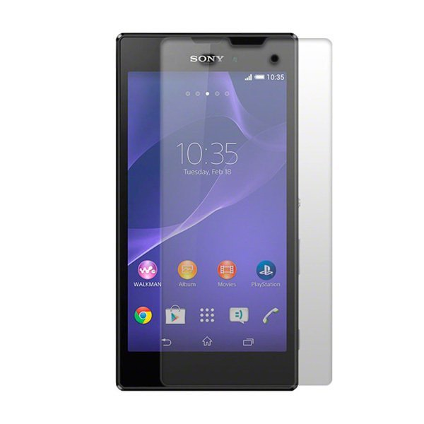 Wellcomm Screen Protector Easy Wipe Sony Xperia T3